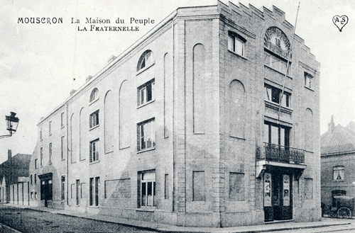Mouscron, PS, Maison du peuple