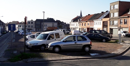 Campitex, parking, Mouscron, Marcel Demeulemeester