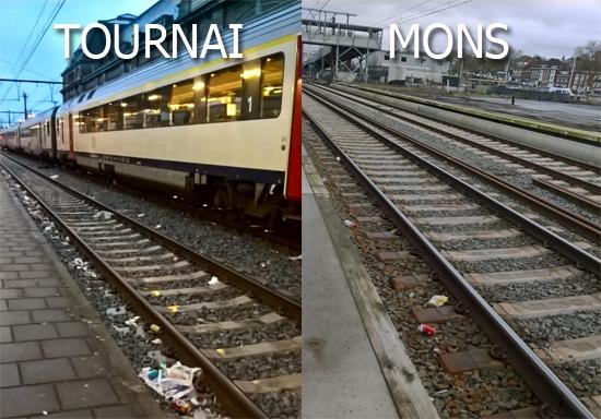 Tournai, Mons, Elio Dirupo, Paul-Olivier Delannois, rudy Demotte, gare