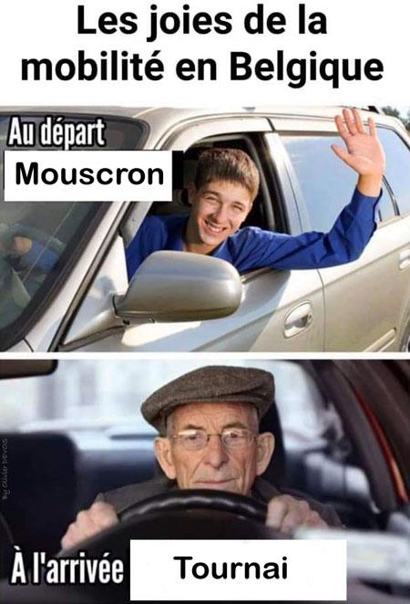 Mobilité Mouscron Tournai