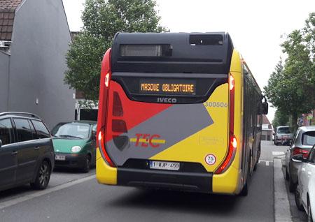 Bus Mouscron Vercruysse Dominique