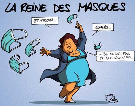 Maggie De Block masques